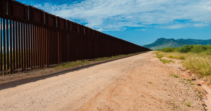 Building a wall along the border of Arizona