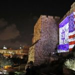 israeli and american flags side by side