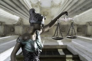 lady justice statue holding her scale